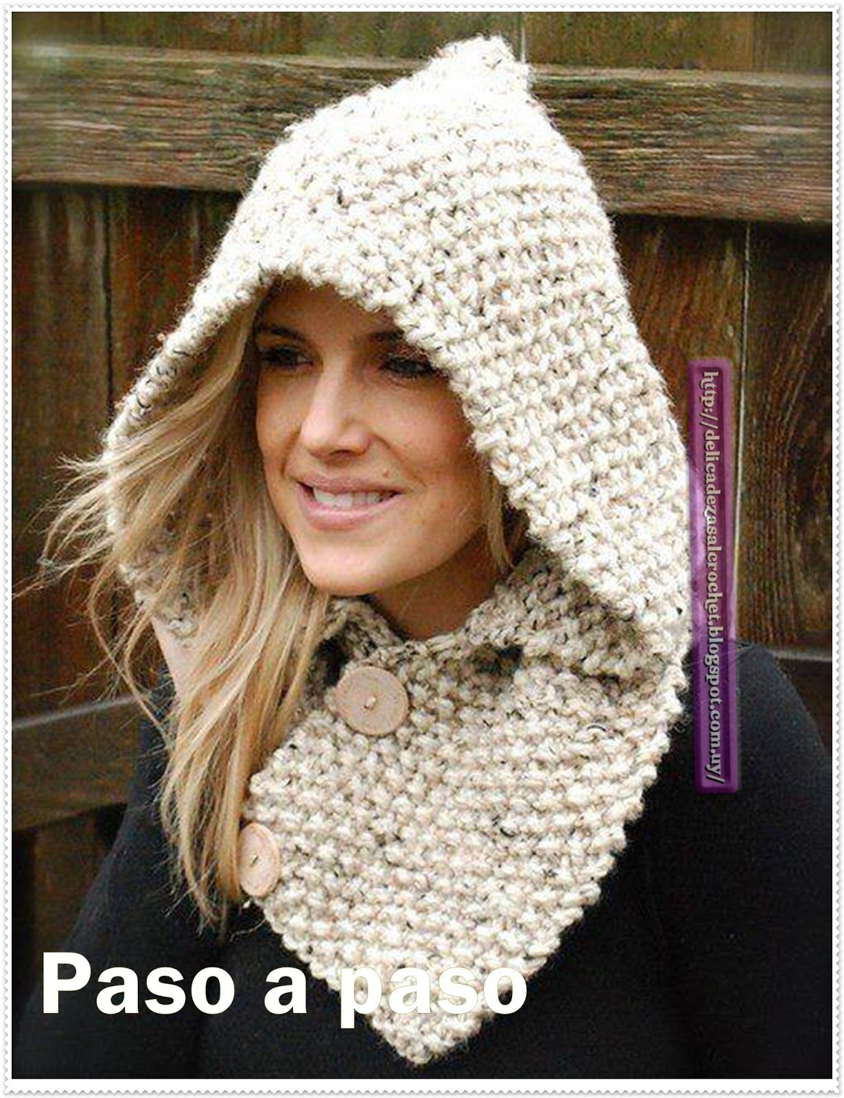 Ideas para el hogar: Capuchas dos agujas y crochet … | tejido | Pinte…