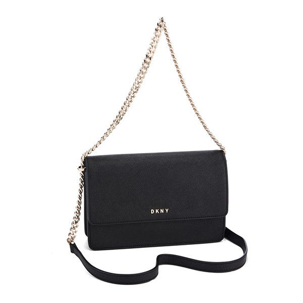 Bryant flap cross body bag - Black DKNY M6s44YeB