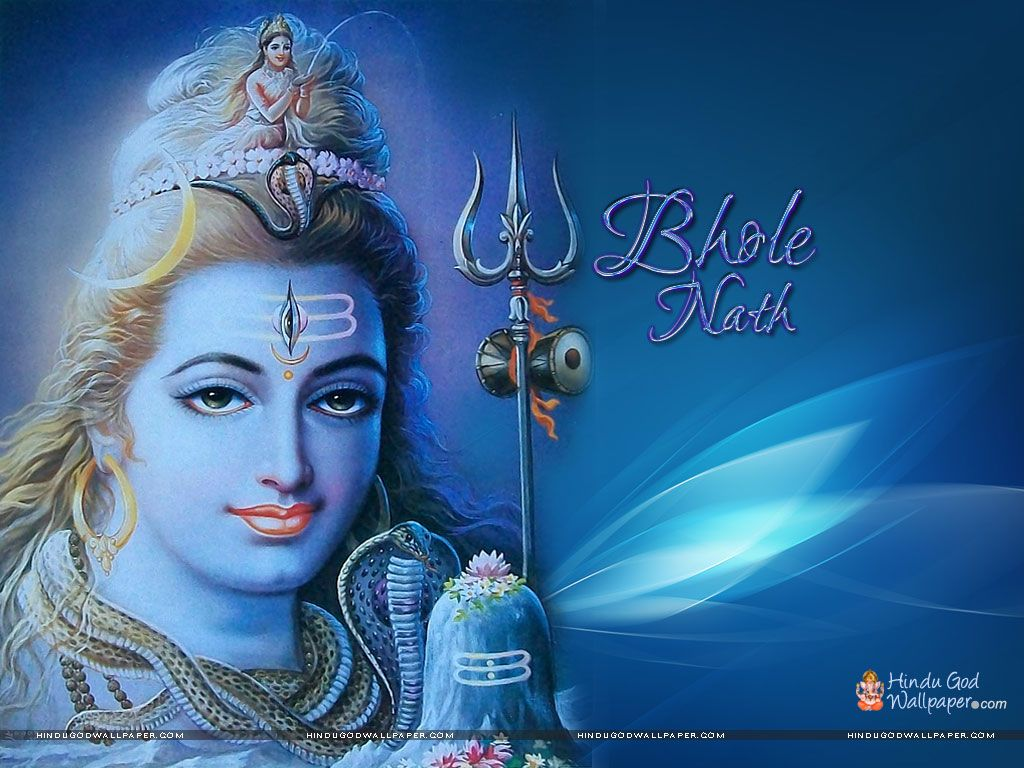 Shiv Bhole Nath Wallpapers Free Download Shiv Shakthi In 2019