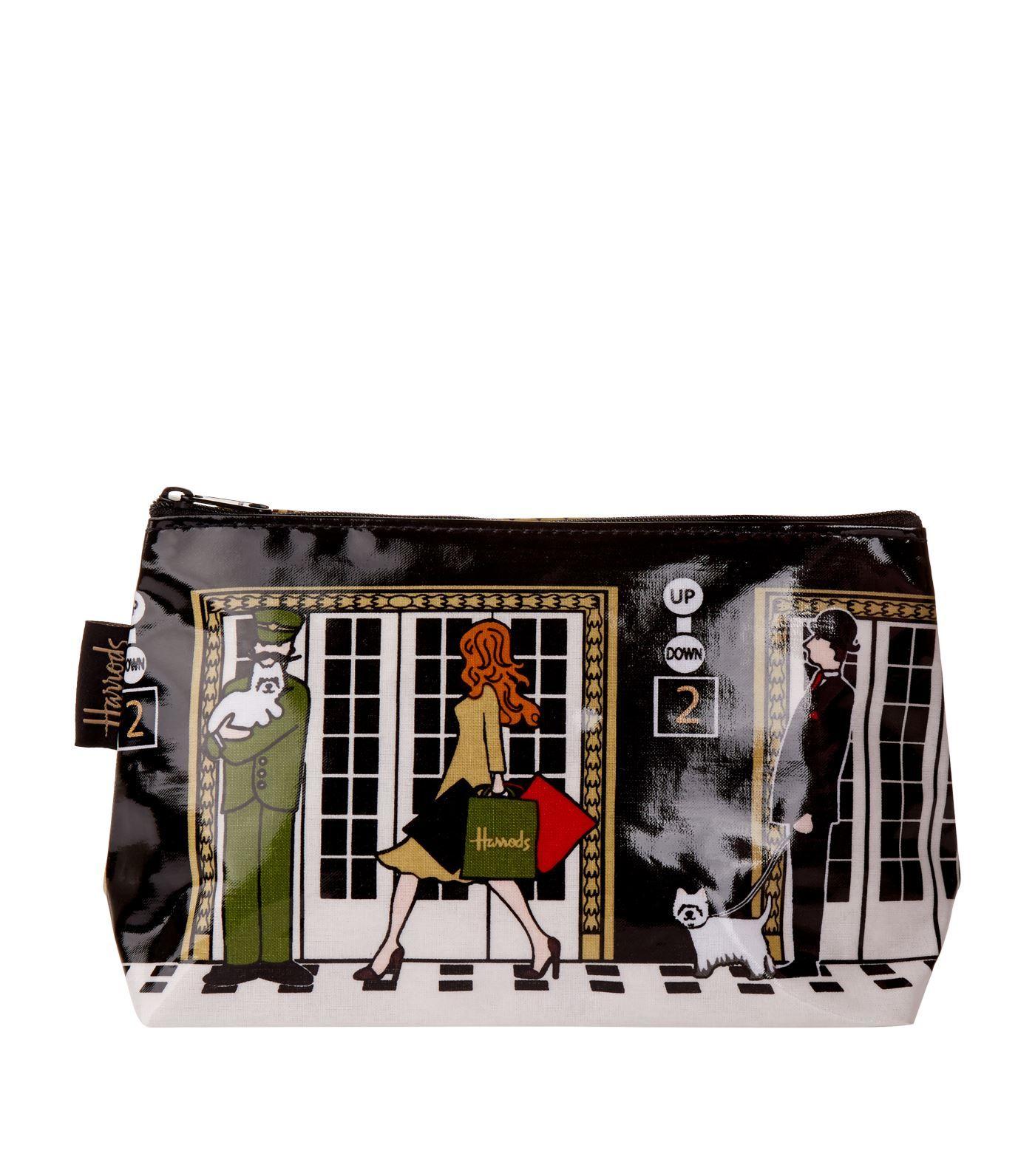 ee20de24ca Harrods Harrods Elevators Cosmetic Bag