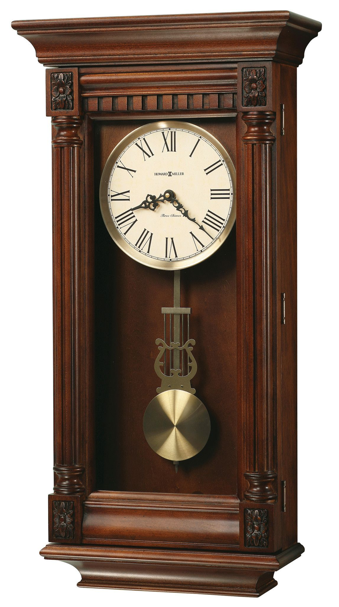 Lewisburg Wall Clock Vintage Wall Clock Chiming Wall Clocks