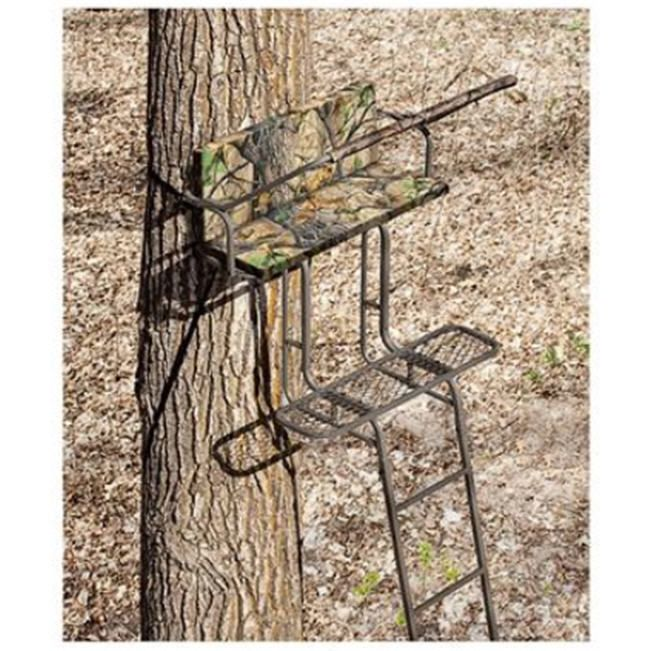 2 Man Tree Ladder Stand Hunting Climbing Hange Deer Big Game Bow Outdoor Climb Ladder Stands Ladder Tree Stands Tree Stand