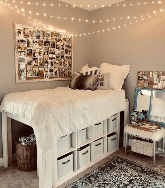 20 Pinterest-Worthy Dorm Room Ideas That Will Make Your Friends Jealous images