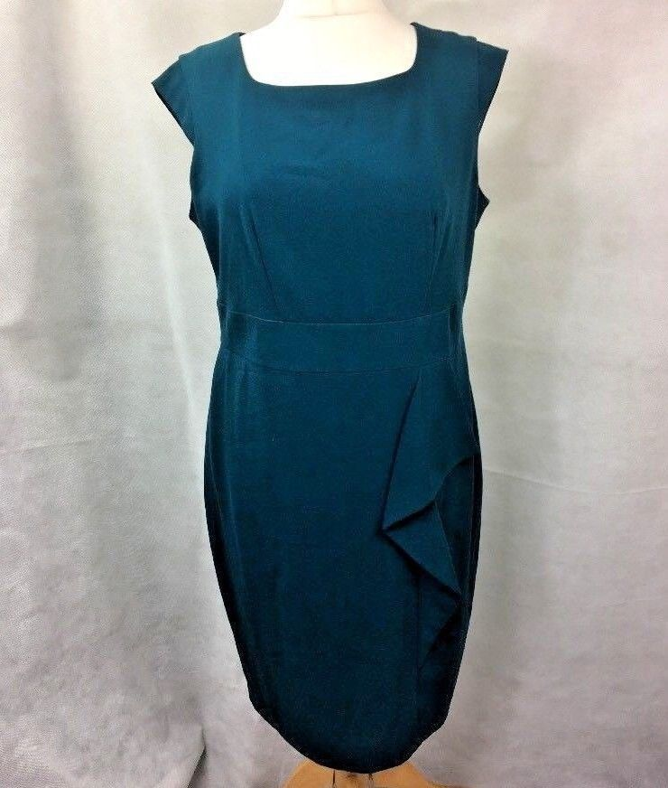 Marks Spencer Pencil Dress Green Size 18 Uk Z2 Fashion Clothing Shoes Accessories Womensclothing Dresses Ebay Link Dresses