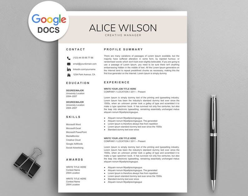 20 Google Docs Resume Templates Download Now Mila Friedma Resume Template Free Simple Resume Template Resume Template Word