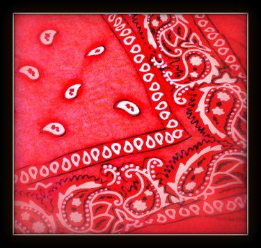red bandana.