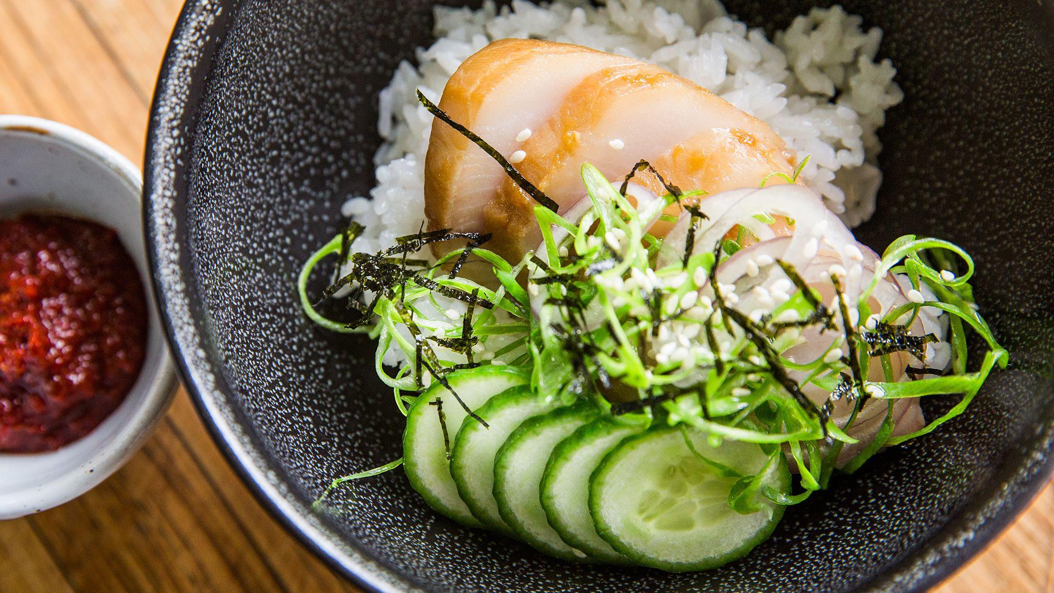 Schnelle Leichte Sommerküche Ofentomaten Mit Hähnchen : Black cod with soy garlic and lime sous vide recipe chefsteps