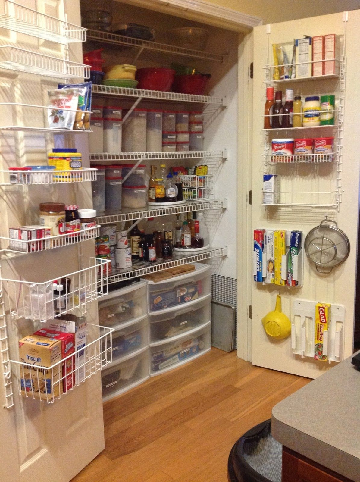I used rubbermaid pull out drawers in my pantry google search splendid rubbermaid pantry door racks with three tier plastic drawer organizer and safe plastic food storage containers workwithnaturefo