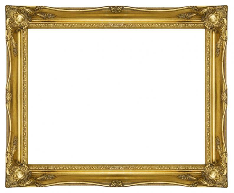 Resultado de imagen de marcos y bordes elegantes - Marcos redondos para cuadros ...