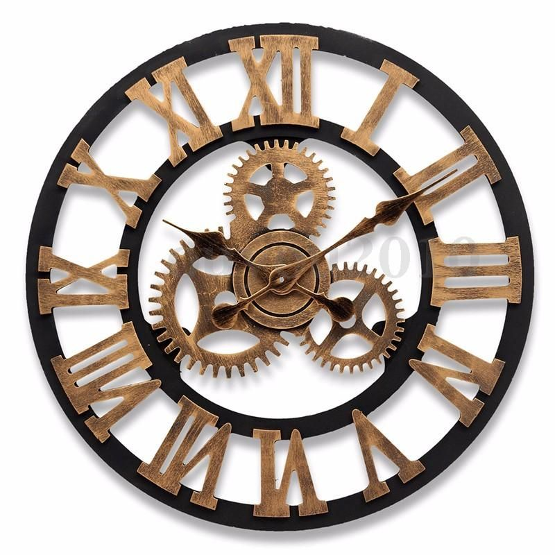 Часы с шестеренками картинки