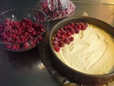 Sina's delicious raspberry pudding cake from Sina-Marie | chef  – Backen… mit Obst