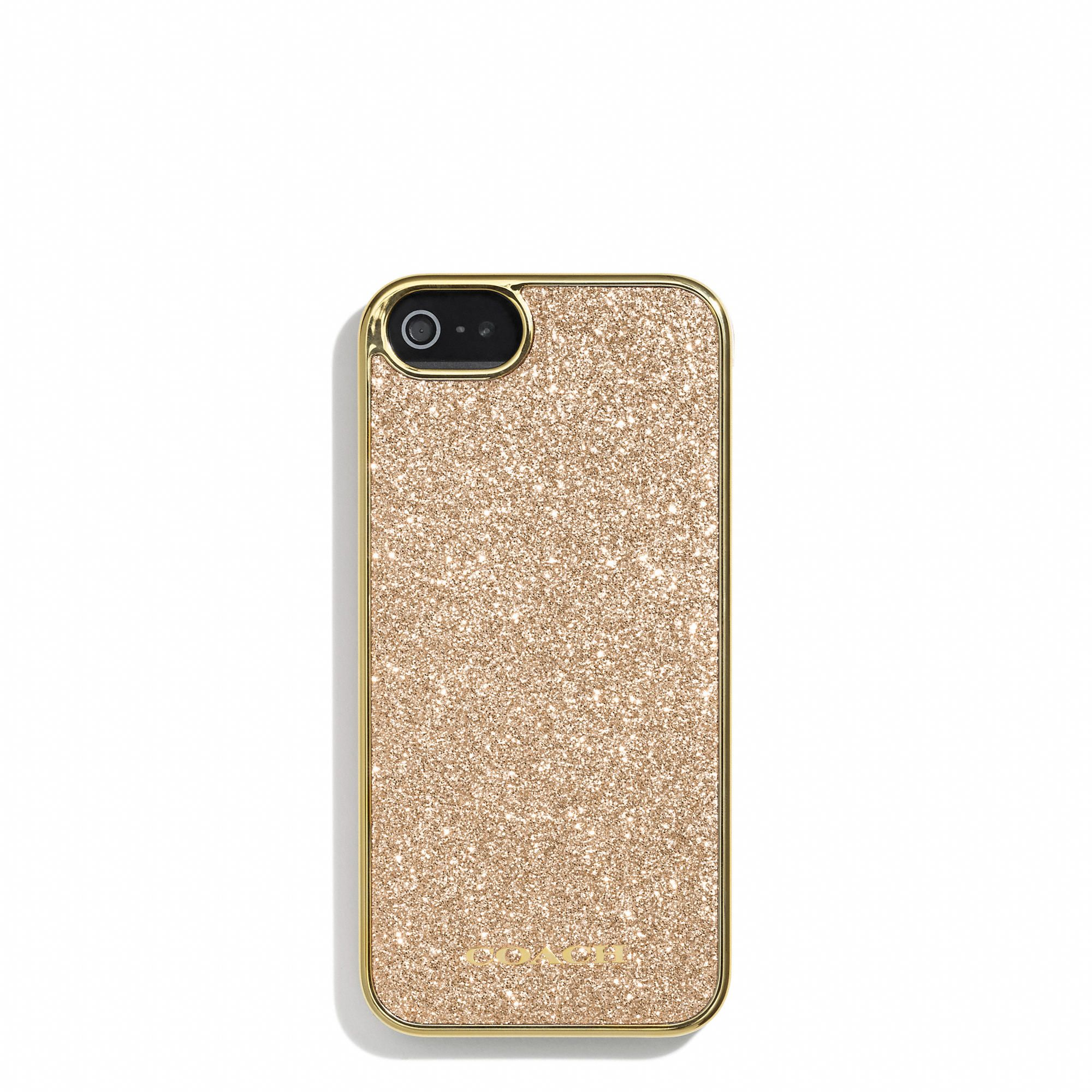 Coach Glitter Inlay Iphone 5 Case | Iphone 5 case, Iphone