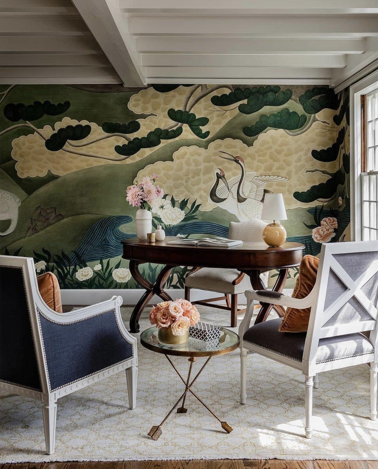 Schumacher In 2021 Decor Home Decor Traditional Wallpaper