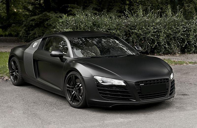 Flat Black Audi R8 V8 Black Audi Audi Cars Super Sport Cars