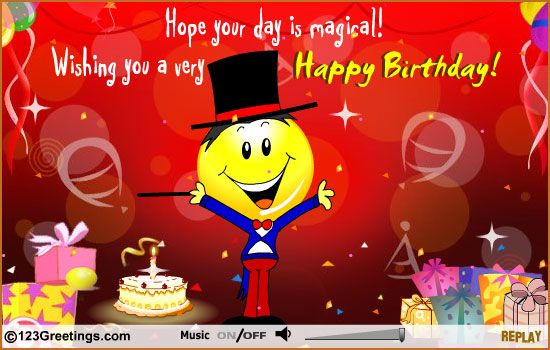 A Magical Day Free For Kids Ecards Greeting Cards 123