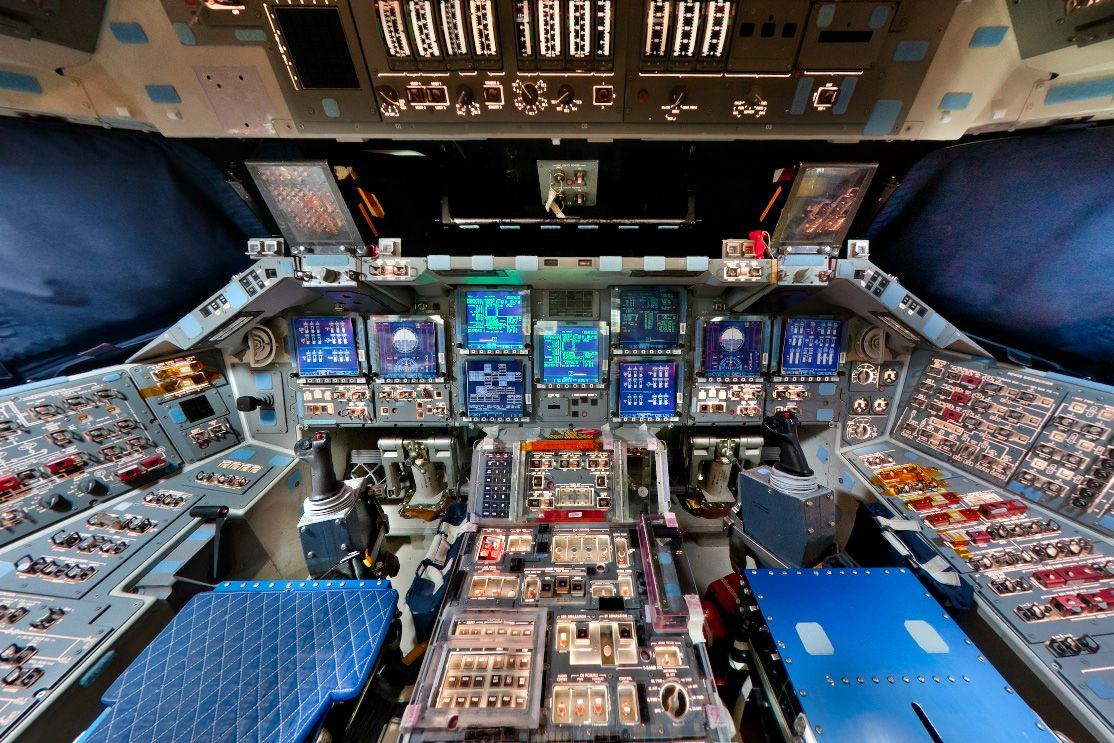 space shuttle cockpit takeoff - photo #32