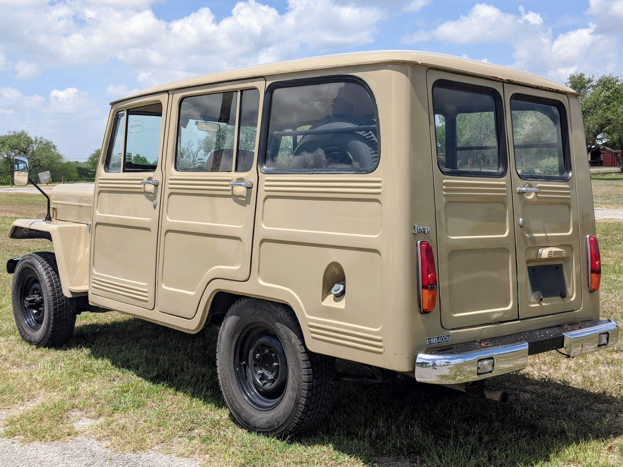 No Reserve 1982 Mitsubishi Jeep J37 Jeep, Willys wagon