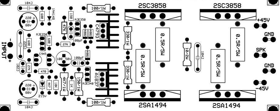 5000w audio amplifier