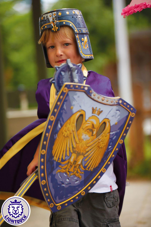 ritter kostüme für kinder umhang schild schwert und
