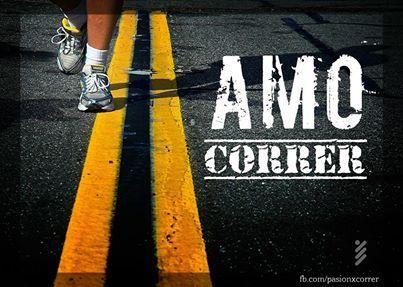 Amo correr!
