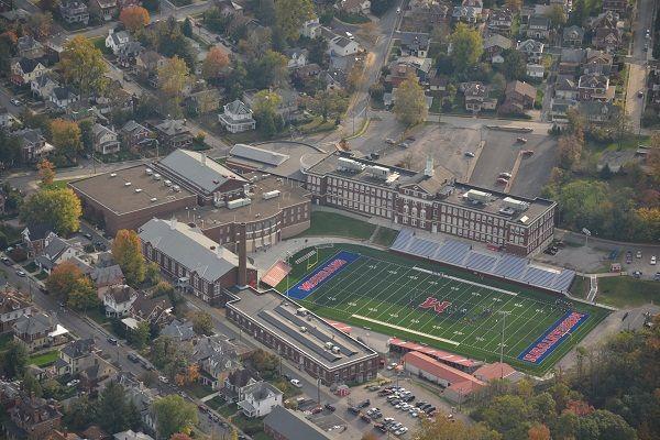 Morgantown High School - my alma mater! Go Mohigans! My