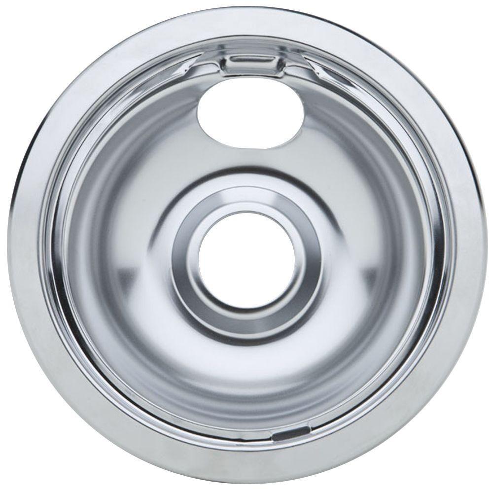 Partsmasterpro 6 In Chrome Drip Pan For Non Ge Ranges Ge Ranges