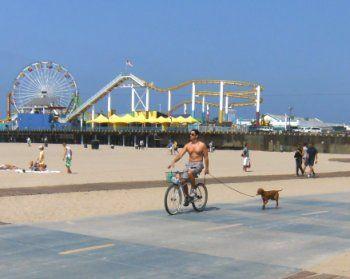 Bike Path From Manhattan Beach To Santa Monica Los Angeles Beaches Bike Path Road Trip Usa