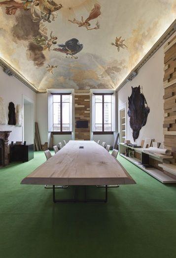 Giraldi Associates Architects' Headquarters Office Interior Design in Florence, Italy
