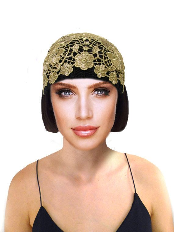 80dd538cf0b Art Nouveau Cloche Hat
