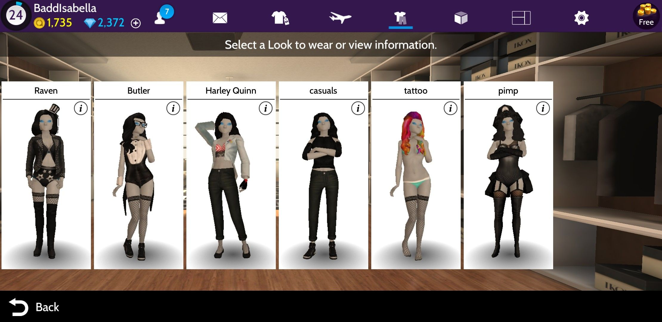 Avakin Life    I like how you can save outfits etc    Cute
