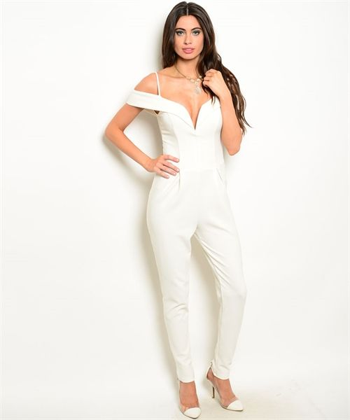 Ivory offshoulder jumpsuit $90.00 (AUD) FREE SHIPPING!!! OFFER ...