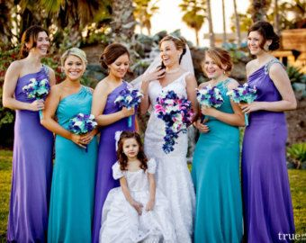 Malibu Blue Bouquet On Etsy A Global Handmade And Vintage