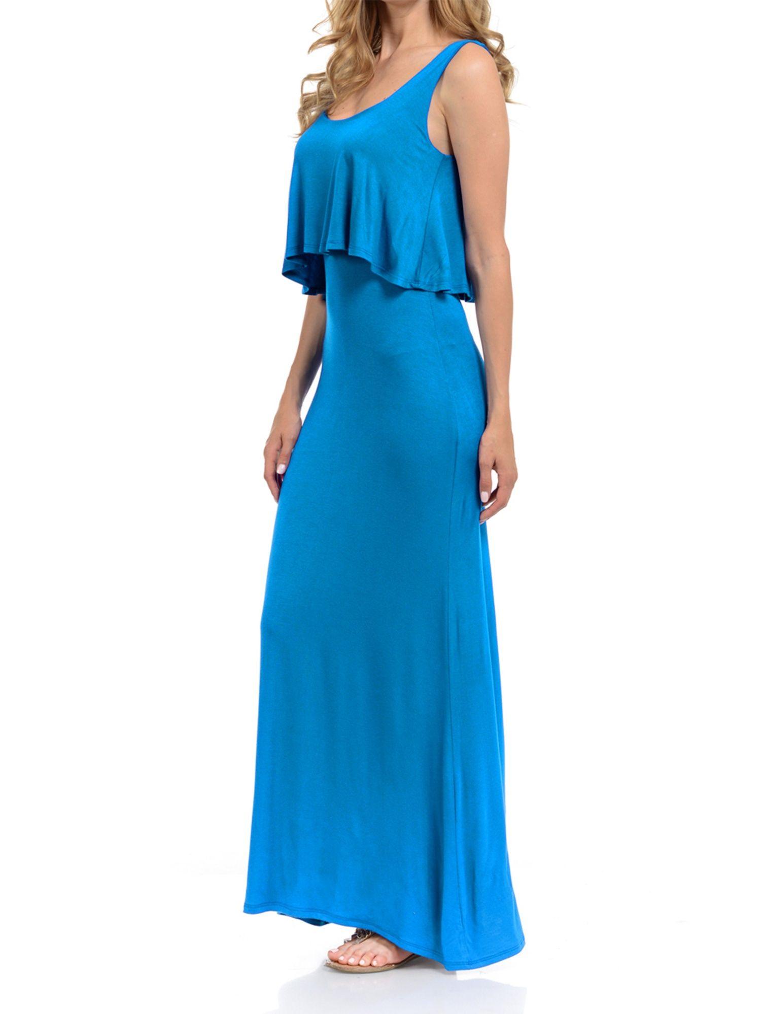 Basico Basico Women S Maxi Dress Sleeveless Tube Top Walmart Com Womens Maxi Dresses Sleeveless Tube Top Maxi Dress [ 1999 x 1500 Pixel ]