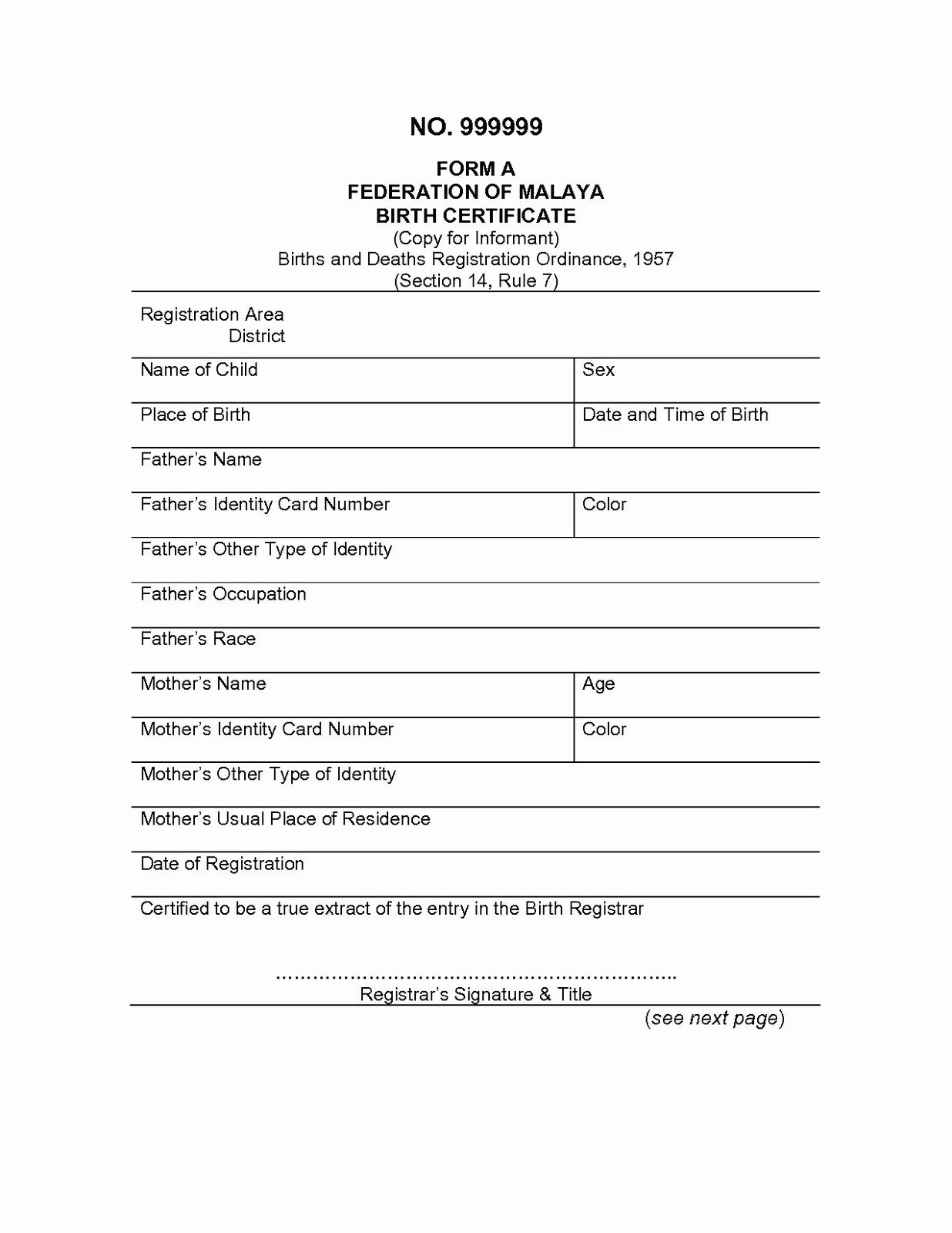 The breathtaking Marriage Certificate Translation Template