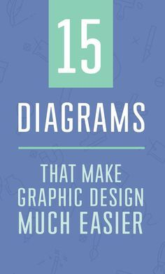 On the Creative Market Blog - 15 Diagrams That Make Graphic Design Much Easier