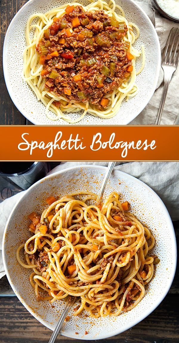Spaghetti Bolognese  ein Klassiker aus Italien