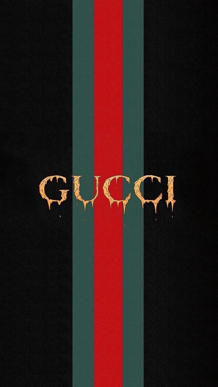 Gucci Iphone Wallpaper Background Love Black Red Fashion Hipster