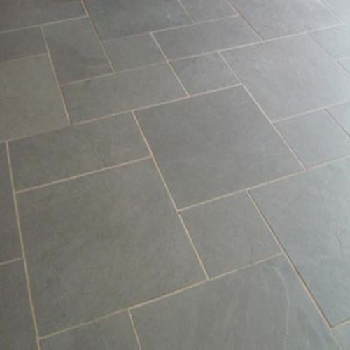 Grey Slate Kitchen Wall Tiles: Cool Grey Slate Kitchen Floor