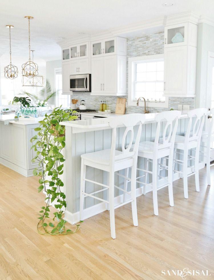 Coastal Kitchen Decorating Ideas For Spring Kitchen Design Decor