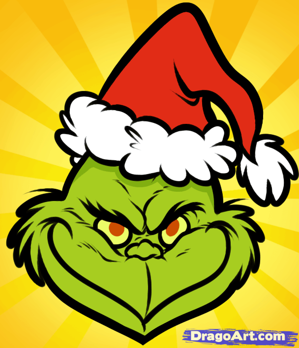 How To Draw The Grinch Easy Step By Step Christmas Stuff Art