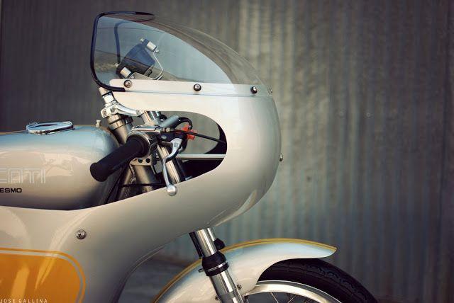 Vintage Ducati Race Bike