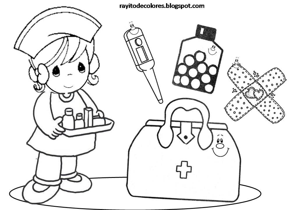 Resultado de imagen para botiquin para colorear para niños ...