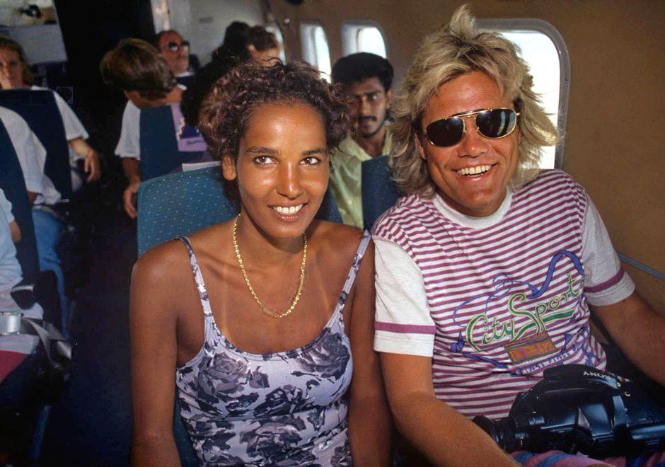 Dieter Bohlen And Nadja Abdel Farrag Modern Talking Disco Modern
