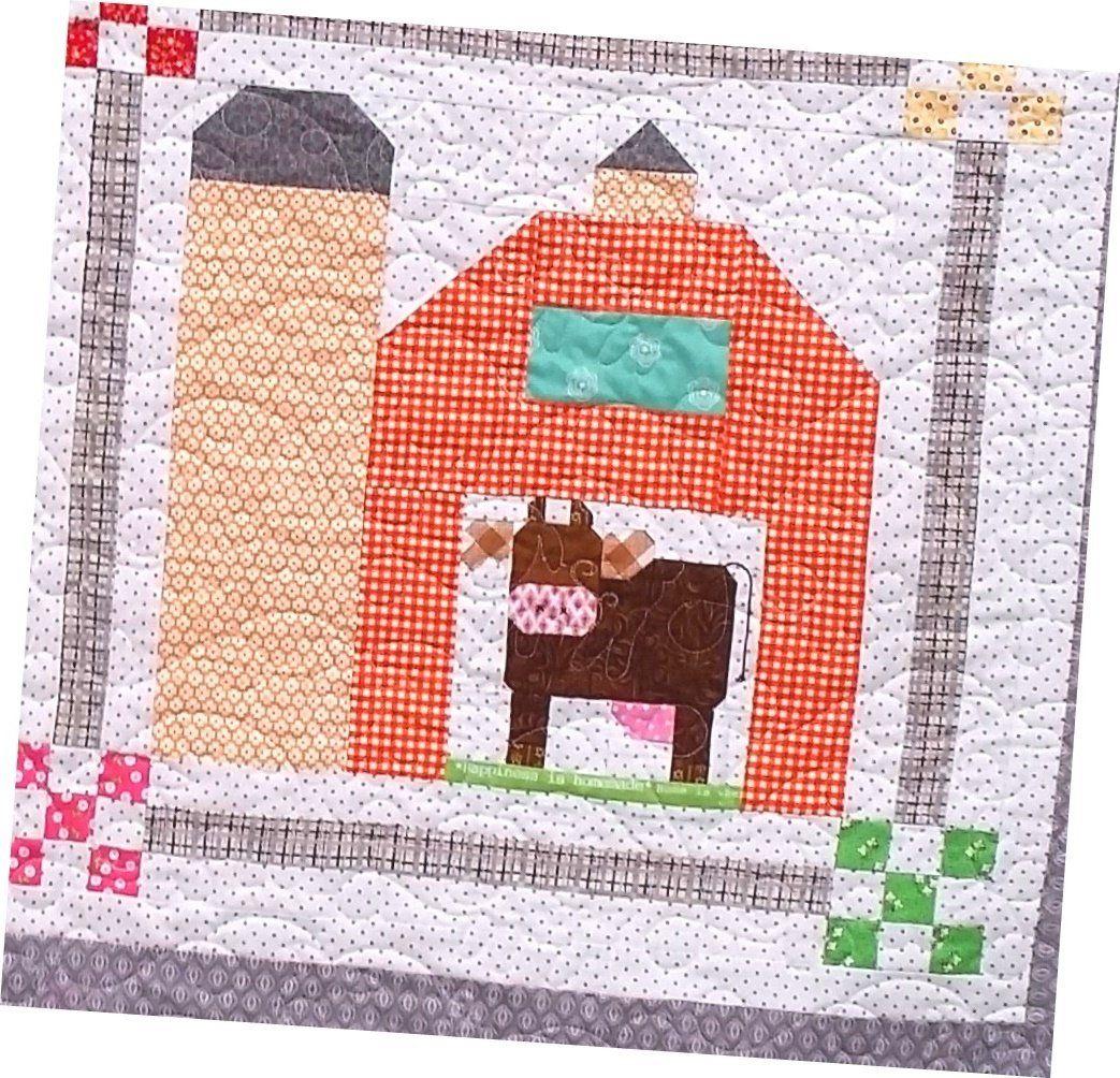 Farm Girl Vintage Barn Yard Quilt Kit - 51