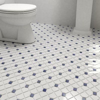 Elitetile Cambridge Porcelain Mosaic Tile Wayfair Porcelain Mosaic Porcelain Mosaic Tile Mosaic Tiles