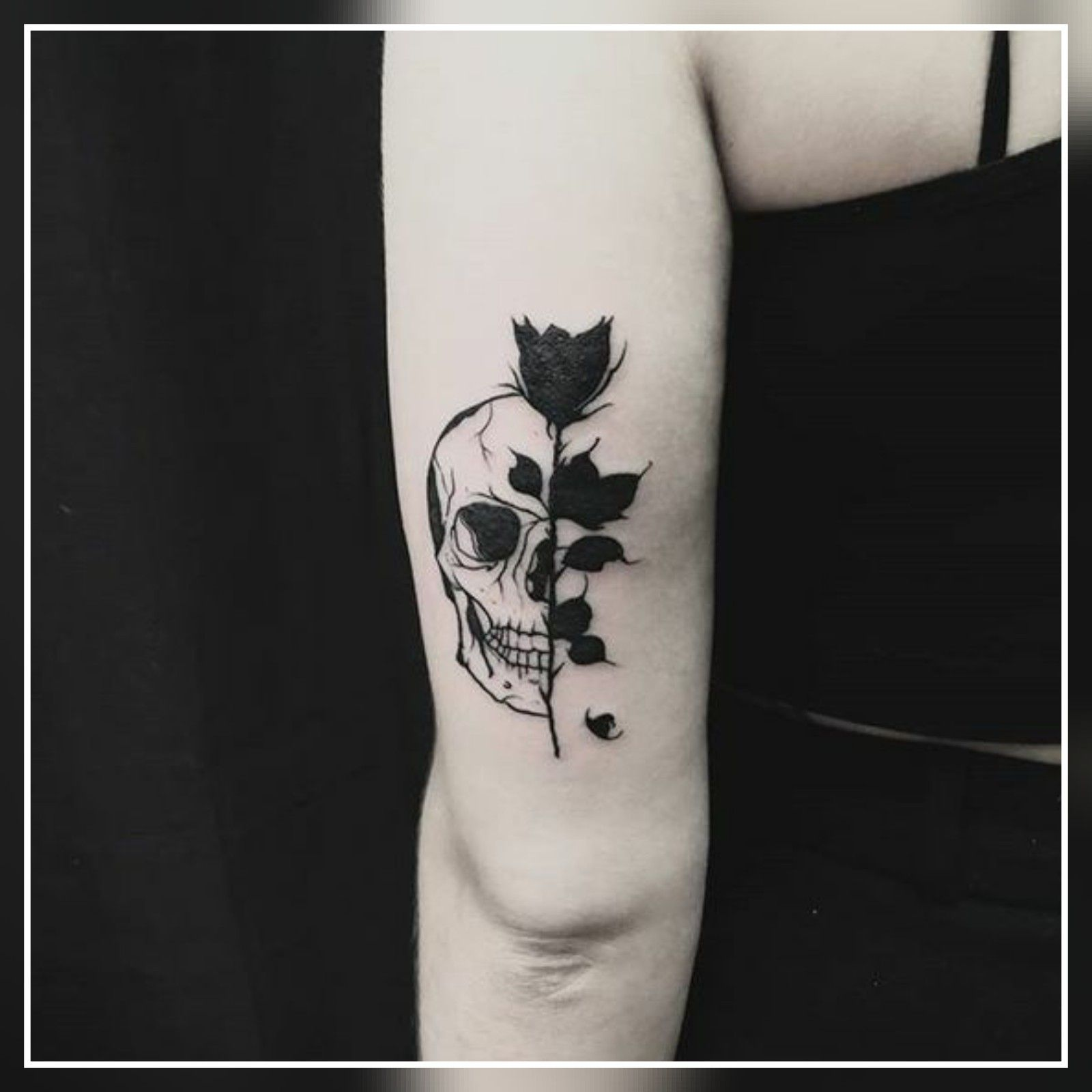 45 Small Black Rose Tattoo Ideas Inspiration Tattoos Guzel Dovmeler Kucuk Dovmeler