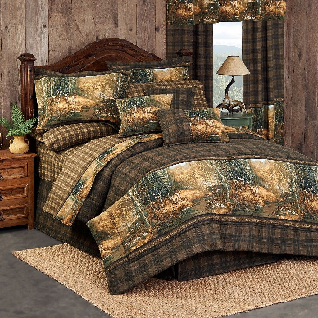 Whitetail Birch Comforter Set Twin - Kimlor 09023700084BRT