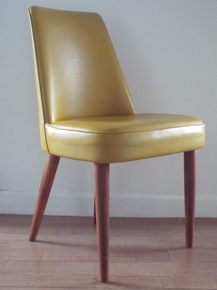 mid century 1950 s teak vinyl george stone desk chair courier