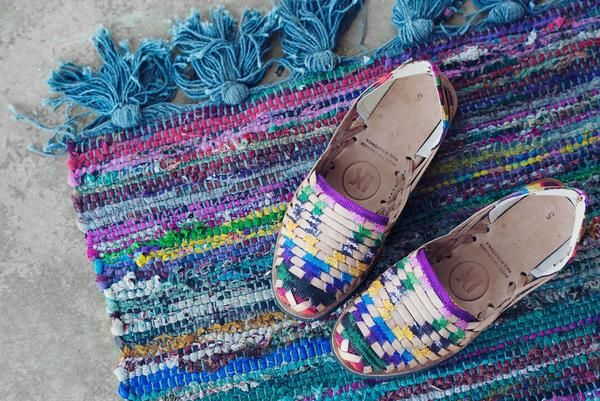 71e352412dcc Ix Style Traditional Mayan Woven Leather Huarache Sandal Ethical Fashion