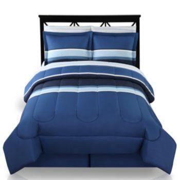 The Big One 174 Colorblock Reversible Bedding Set Mens
